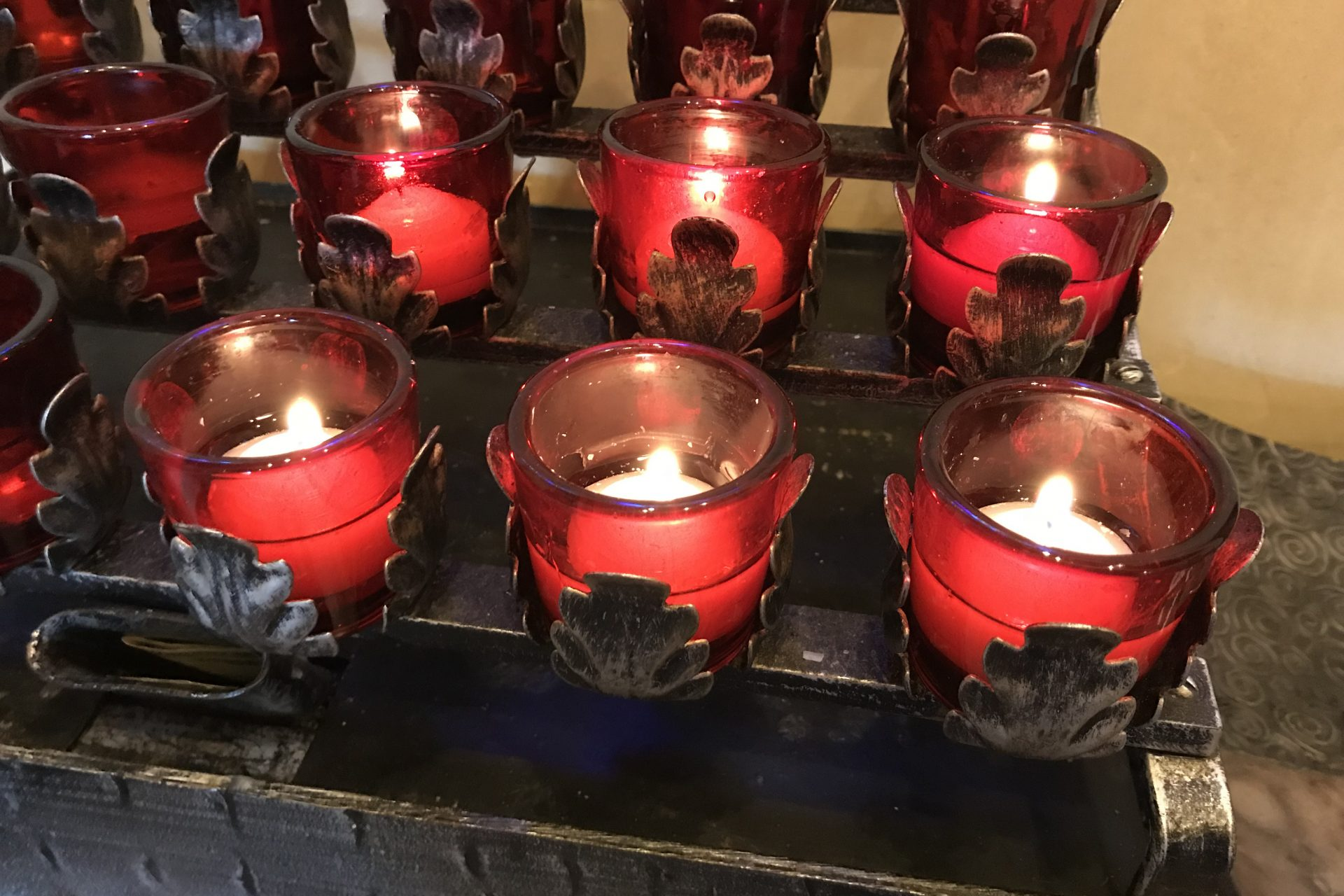 Candles Red